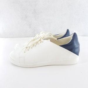 Sam Edelman White Blue Sneaker Sz 8